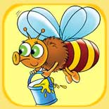 Puzzle online children bee
